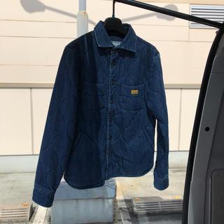 ネイタルデザイン(NATAL DESIGN)のネイタルデザイン キルテッドシャツ S 美品(Gジャン/デニムジャケット)