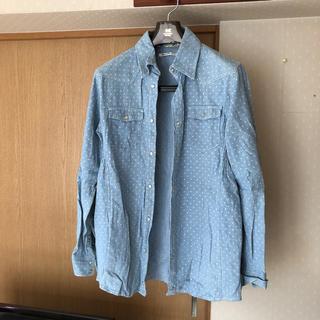 ヴァンキッシュ(VANQUISH)のドットダンガリーシャツ(シャツ)