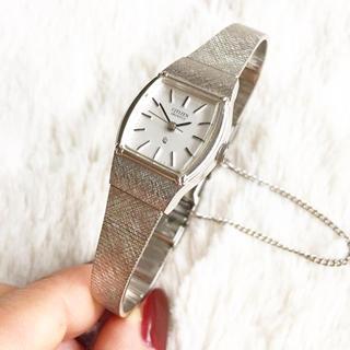 シチズン(CITIZEN)の美品☆ 電池交換込み シチズン レディース腕時計(腕時計)