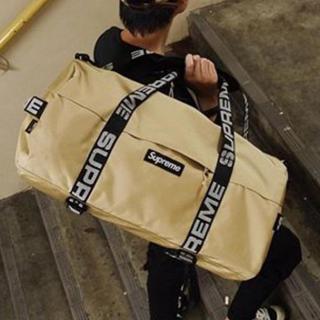 シュプリーム(Supreme)の未使用品 Supreme Duffle Bag Tan 36L ダッフル(ボストンバッグ)