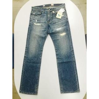 アドリアーノゴールドシュミット(ADRIANO GOLDSCHMIED)の新品AG jeans TAMBOURINE ダメージ/リペア加工 17YEARS(デニム/ジーンズ)