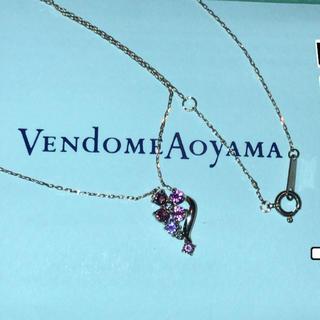 ヴァンドームアオヤマ(Vendome Aoyama)のヴァンドーム青山雫フラワーネックレス(ネックレス)