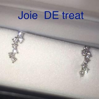 ヴァンドームアオヤマ(Vendome Aoyama)のJoie  DE treat K18WGダイヤモンドピアス 2018年6月購入 (ピアス)