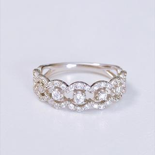 ヴァンドームアオヤマ(Vendome Aoyama)のヴァンドーム青山 ダイヤモンド リング プラチナ(リング(指輪))