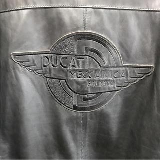 ドゥカティ(Ducati)のDucati ライダージャケット美品値下げ中⤵️(レザージャケット)