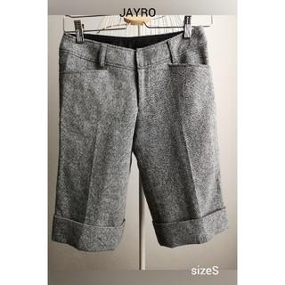 ジャイロ(JAYRO)の小柳様専用 美品 JAYRO 大人ウール膝丈パンツ(ハーフパンツ)