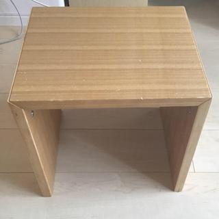 ムジルシリョウヒン(MUJI (無印良品))の無印 コ字の家具(コーヒーテーブル/サイドテーブル)