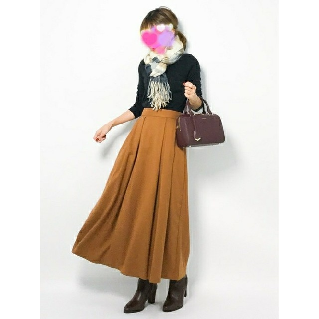 ikka(イッカ)の完売レア✨超美品♥️ikka柔らか大判ストール✨マフラー♥️チェック✨ふわふわ レディースのファッション小物(マフラー/ショール)の商品写真