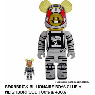 NEIGHBOHOOD BBC BE@RBRICK 400% 100% セット