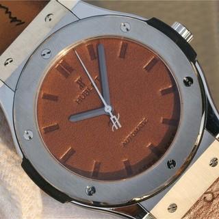 ウブロ(HUBLOT)のHUBLOT ウブロ ビックパン 自動巻き  メンズ 腕時計(腕時計(アナログ))