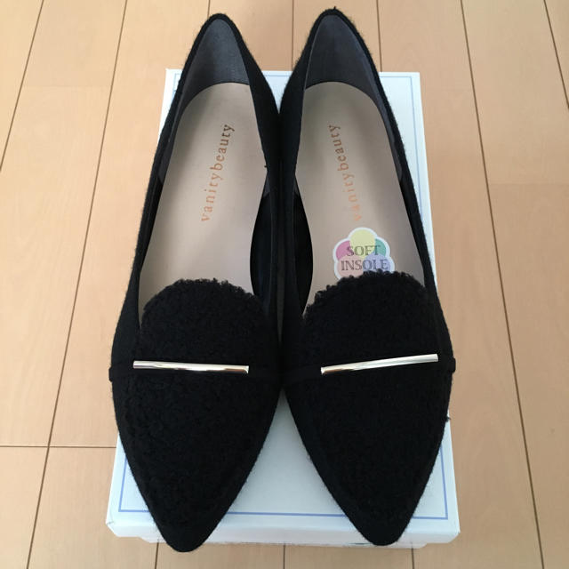 vanitybeauty(バニティービューティー)のvanity beauty パンプス新品 24cm レディースの靴/シューズ(ハイヒール/パンプス)の商品写真