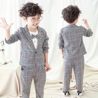 男の子 フォーマル セットアップ 韓国スタイル(ドレス/フォーマル)