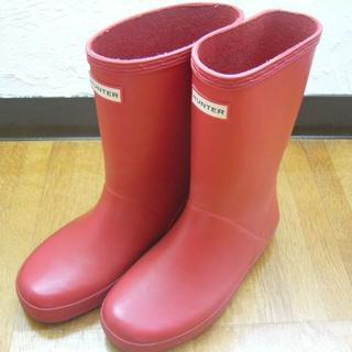 ハンター(HUNTER)のハンター レインブーツ 長靴UK13(約19.5CM)(長靴/レインシューズ)