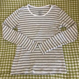 ムジルシリョウヒン(MUJI (無印良品))のボーダーカットソー ロンT*✩(Tシャツ/カットソー(七分/長袖))