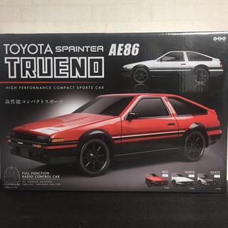トヨタ - 【新品未開封】AE86ラジコン 赤
