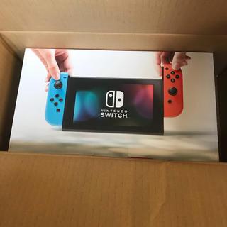 ニンテンドースイッチ(Nintendo Switch)の新品未開封 Nintendo switch 本体(携帯用ゲーム本体)