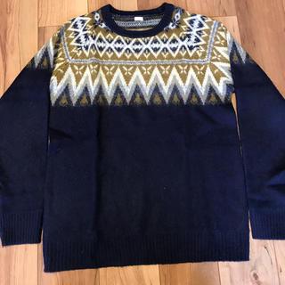 ジーユー(GU)のGU ノルディック柄セーター 値引き対応します!(ニット/セーター)