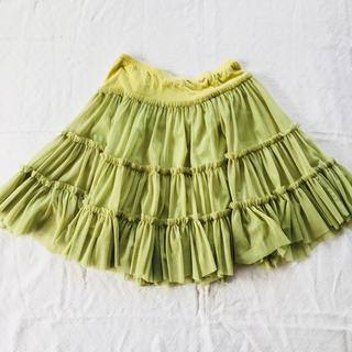 ルシェルブルー(LE CIEL BLEU)のルシェルブルー チュールスカート(ひざ丈スカート)
