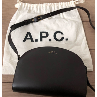a.p.c ハーフムーンバッグ♡