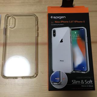 シュピゲン(Spigen)のSpige iPhone XS/X用 クリアケース(iPhoneケース)