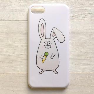 うさぎ  スマホケース  iPhone8  多機種対応(スマホケース)