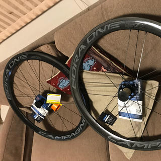 campagnolo bora one50 クリンチャー 2018 タイヤ付き
