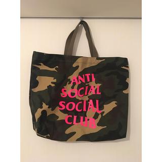 シュプリーム(Supreme)のANTI SOCIAL SOCIAL CLUB トートバッグ(トートバッグ)