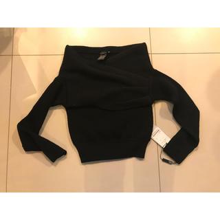 ダブルスタンダードクロージング(DOUBLE STANDARD CLOTHING)のダブルスタンダード オフショルニット(ニット/セーター)
