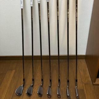 キャロウェイゴルフ(Callaway Golf)のX2 HOT アイアン 5〜P 6本セット モーダスシャフト エリートグリップ(クラブ)