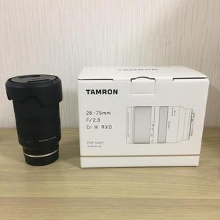 タムロン(TAMRON)の【美品】タムロン A036 28-75mm F/2.8 Di III RXD (レンズ(ズーム))