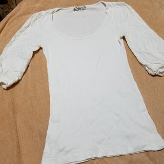アゴストショップ(AGOSTO SHOP)のフルネルソンリブカットソー(カットソー(半袖/袖なし))