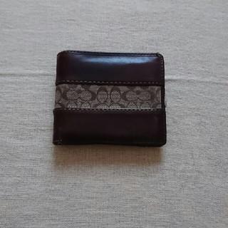 ★COACH★ メンズ  折り財布