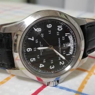 ハミルトン(Hamilton)のHAMILTON KHAKI ハミルトン カーキ 自動巻き(腕時計(アナログ))