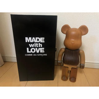 BE@RBRICK 400% カリモク COMME des GARCONS