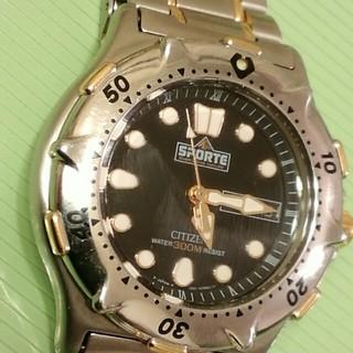 シチズン(CITIZEN)のシチズンダイバーズ スポルテ 300M  ヴィンテージ(腕時計(アナログ))
