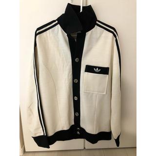 アディダス(adidas)の'80西ドイツ製 adidas メタルボタン シャツジャケット(ジャージ)