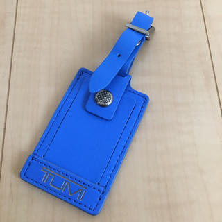 トゥミ(TUMI)のTUMI  ラゲージタグ  ブルー(旅行用品)