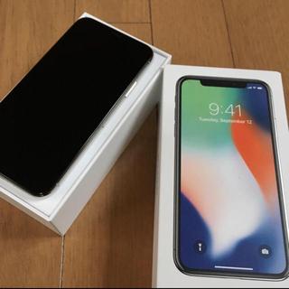アイフォーン(iPhone)のiPhone X 64GB simフリー (スマートフォン本体)