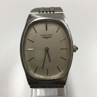 ロンジン(LONGINES)のロンジン アンティーク 手巻 稼働品 尾錠純正 トノー型(腕時計(アナログ))