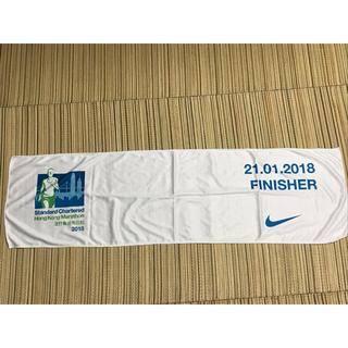 ナイキ(NIKE)の香港マラソン FINISHERタオル(その他)