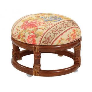 トゥエンティーフォーカラッツ(24karats)のサンフラワーラタン 座椅子 R75HRJ (座椅子)