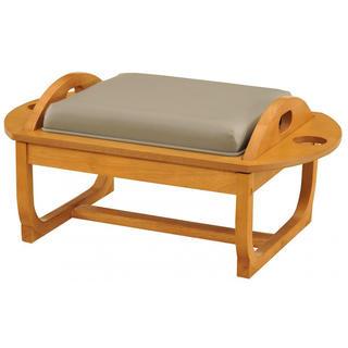 サンカンシオン(3can4on)のひっくり返すリバーシブル家具 フェア 07卓 ロータイプ フレーム/LBN PV(座椅子)