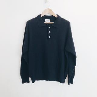 アーペーセー(A.P.C)の⭐️ Isabelle カシミヤ 100% 襟付き ニット 美品(ニット/セーター)