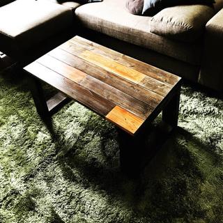 不定期セール10%オフ  オーダーメイド カフェ風 ローテーブル(ローテーブル)