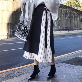 ZARA - デザイン切り替え スカート