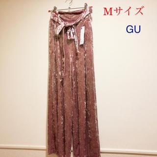 ジーユー(GU)のベロア ワイドパンツ GU(その他)