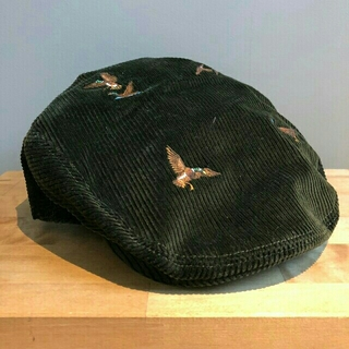 ポロラルフローレン(POLO RALPH LAUREN)のPOLO Ralph Lauren Duck コーデュロイ ハンチングキャップ(ハンチング/ベレー帽)