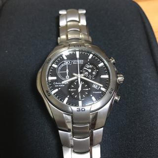 シチズン(CITIZEN)のシチズン クロノグラフ オルタナ チタン(腕時計(アナログ))