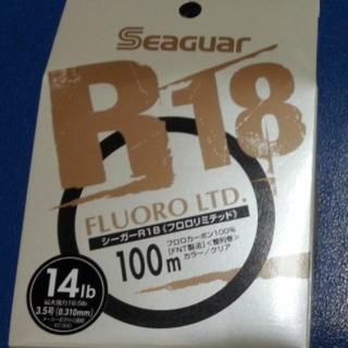新品未使用品 シーガー  フロロリミテッド 14lb(釣り糸/ライン)