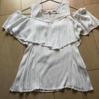 ジュエリウム(JEWELIUM)の麻生地 トップス♥(Tシャツ(半袖/袖なし))
